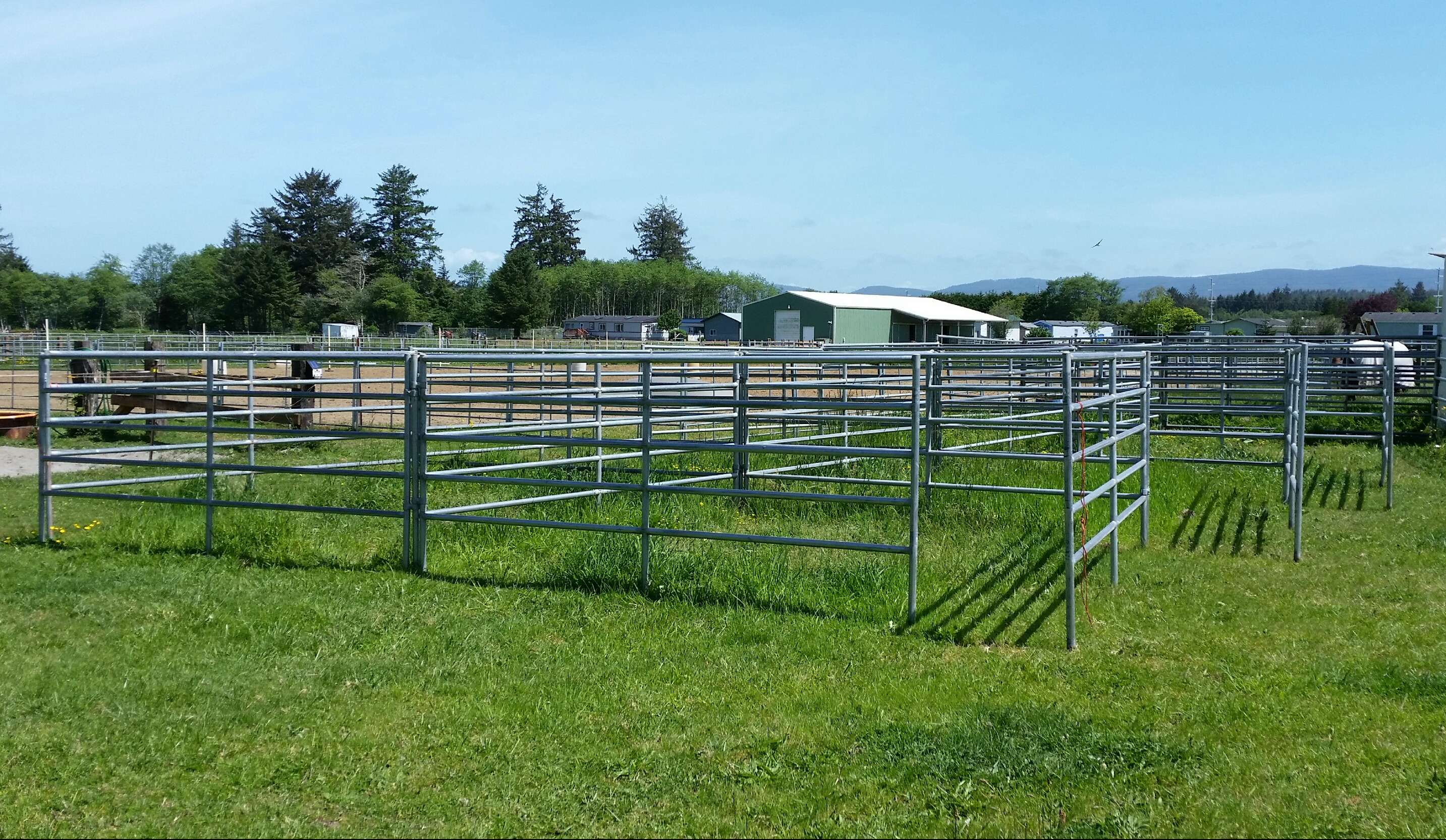 Stalls are matted and are 12' x 12' or 10' x 12'.