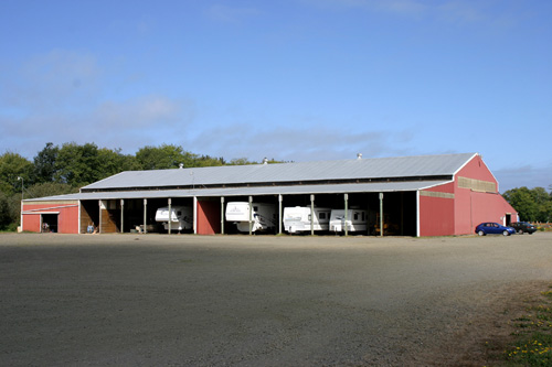 Red Barn Arena RV Storage
